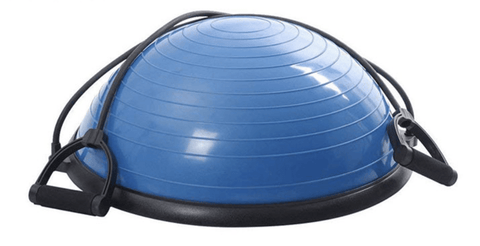 In Stock - Bosu Ball with Detachable Resistance Bands - Catch Fitness - fitness equipment