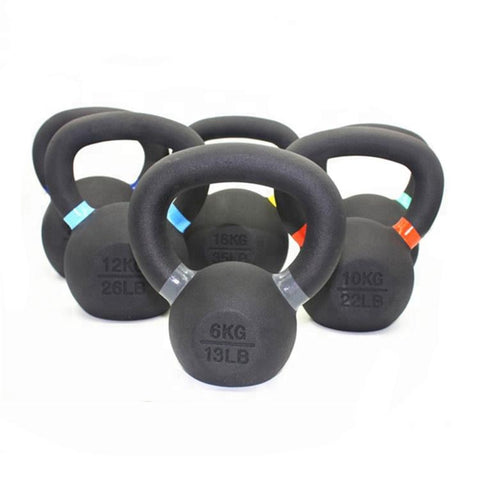 Cast Iron Kettlebells | Arriving Early September - Catch Fitness - fitness equipment