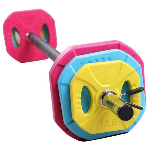 Arriving Mid October: Adjustable Barbell and Weight Set - 20kg - Catch Fitness - fitness equipment