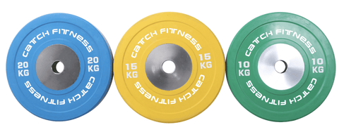 Competition Olympic Bumper Plates | Arriving Late October - Catch Fitness - fitness equipment