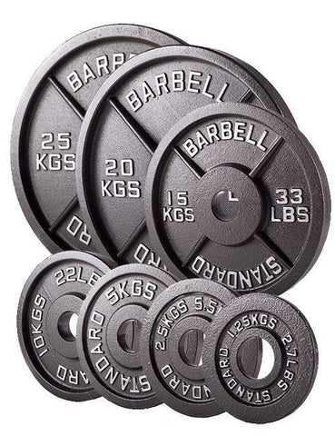 Cast Iron Olympic Plates | In Stock