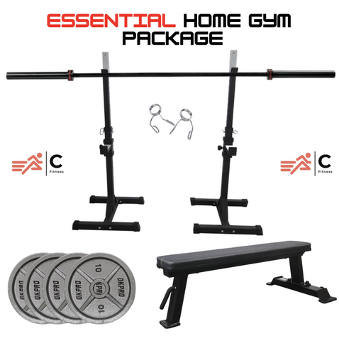 Essential Home Gym Package | In Stock