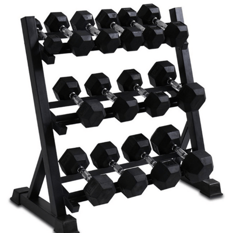 9-Pair Dumbbell Rack | Arriving Mid-September - Catch Fitness - fitness equipment