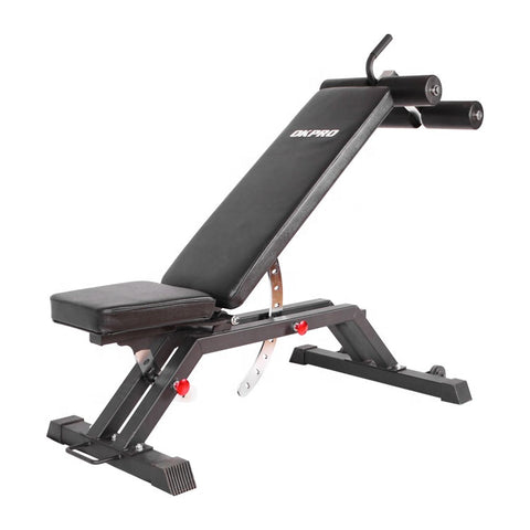 Commercial Grade Adjustable Bench with Removable Foot Catch | In Stock