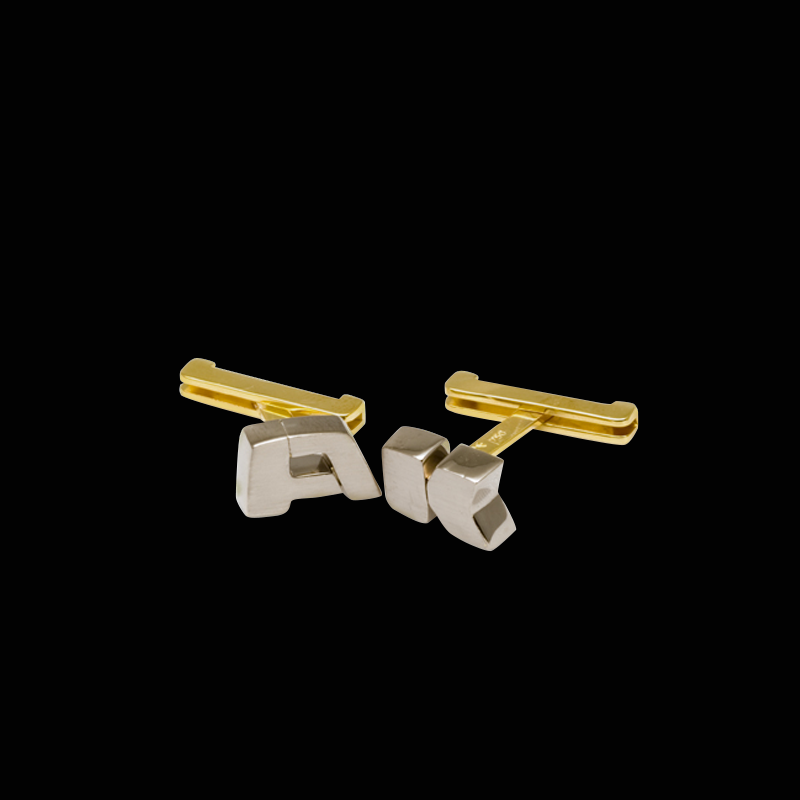 The Alphabet Cufflinks