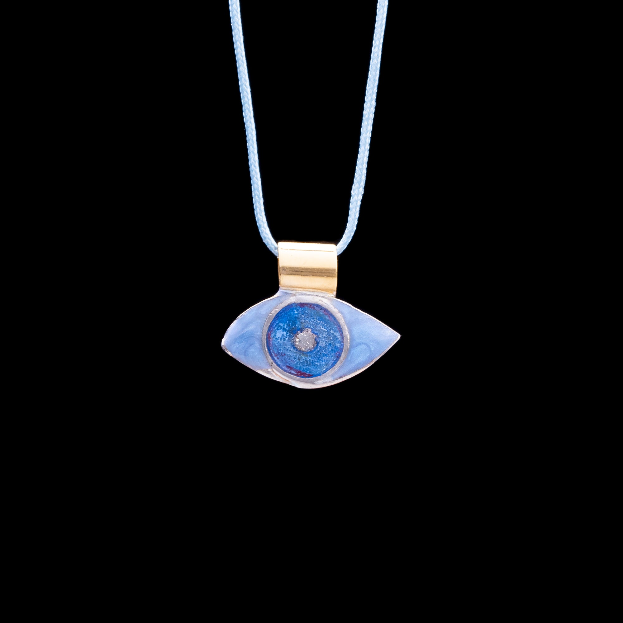 Eye with Ring Pendant