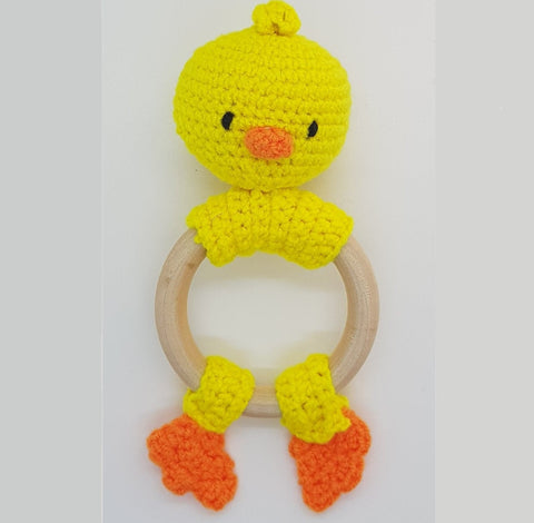 Rattle (Teething) - Duck