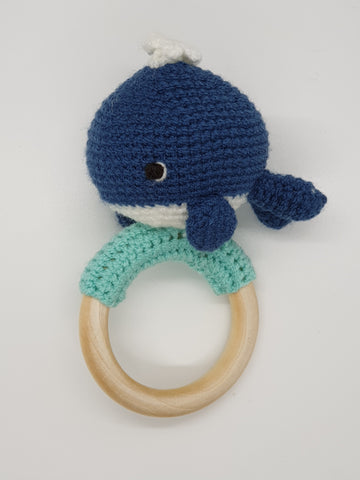 Rattle (Teething) - Whale