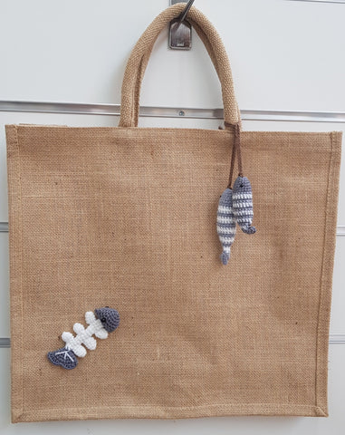 Jute Bag, Phillip Fish