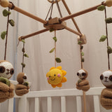 Baby Mobile - Lazy Sloths