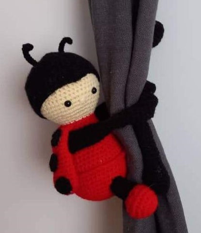 Curtain Creature - Lady Bug