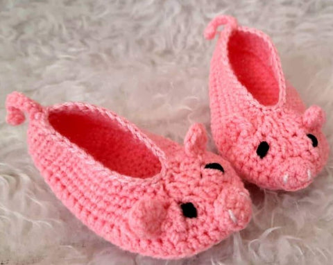 Brilliant Booties - Pig