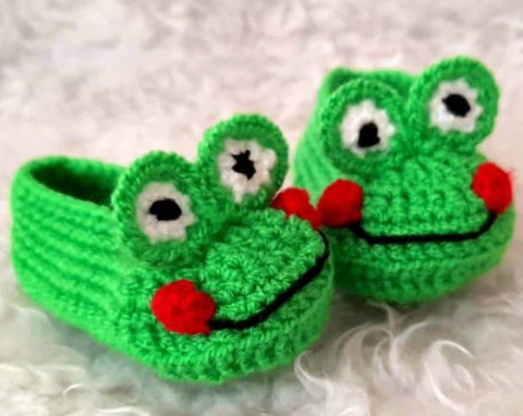 Brilliant Booties - Frog