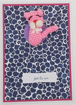 Card Creature Brooch - Pink Panther 1 - Custom