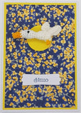 Card Creature Brooch - Duck 1 - Custom