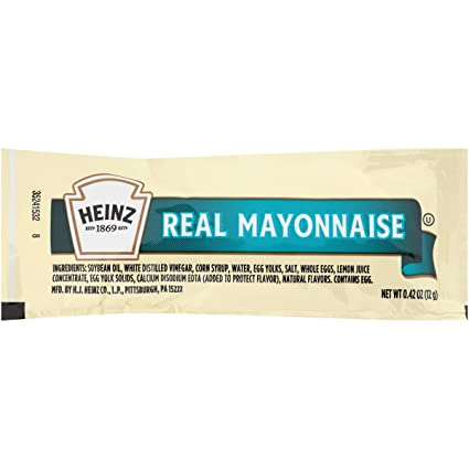 Mayonnaise Packet