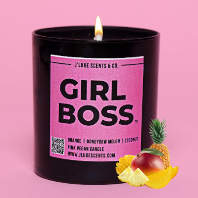girl boss candle