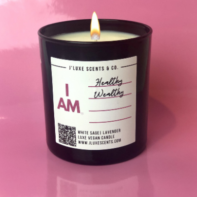 I AM- Affirmation Candle