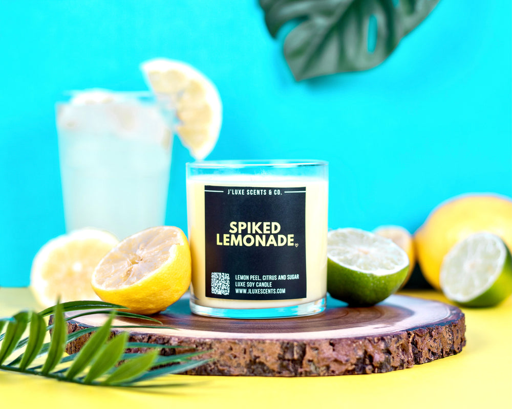 Spiked Lemonade Candle