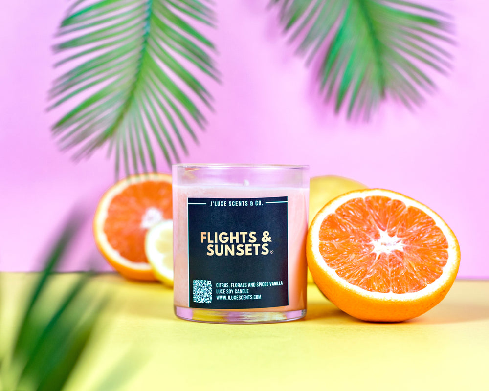 Flights & Sunsets Candle