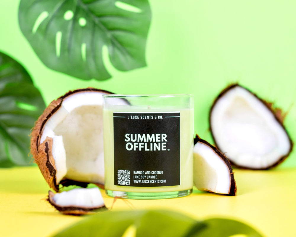 Summer Offline Candle