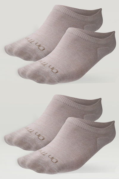 Invisible Fashion Socks (2 Pair Pack)