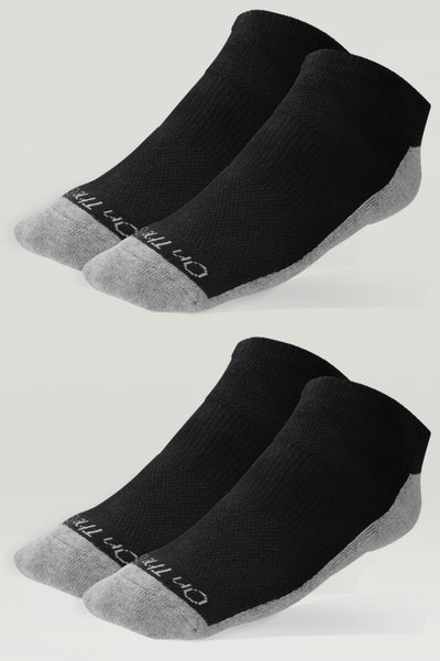 Men's Cushion No Show Socks (2 Pair Pack)
