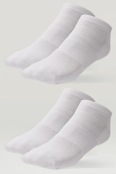 Cushion Essential No Show Socks (2 Pair Pack)