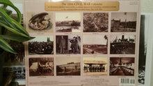 Load image into Gallery viewer, 1994 Civil War Wall Calendar - Paper Ephemera Memorabilia Clip Art Scrapbooking - American Documentaries - Geoffrey Ward Ric Burns Ken Burns