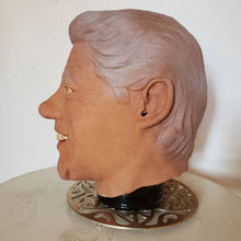 Load image into Gallery viewer, 1993 Bill Clinton Rubber Mask - DEADSTOCK Rubies Mask - UNWORN - Tag Intact - Vintage President Mask - Vintage Rubies Mask - Halloween Mask