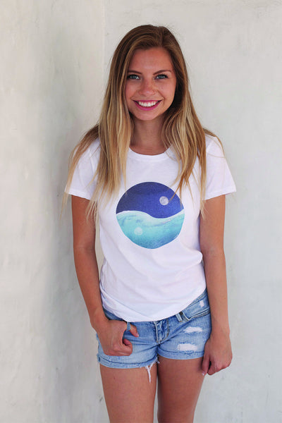 Live Love Surf-LS-Sea the Balance Tee