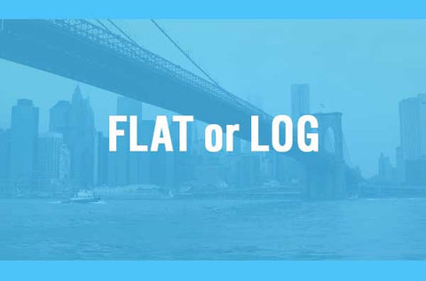 Flat or Log Footage