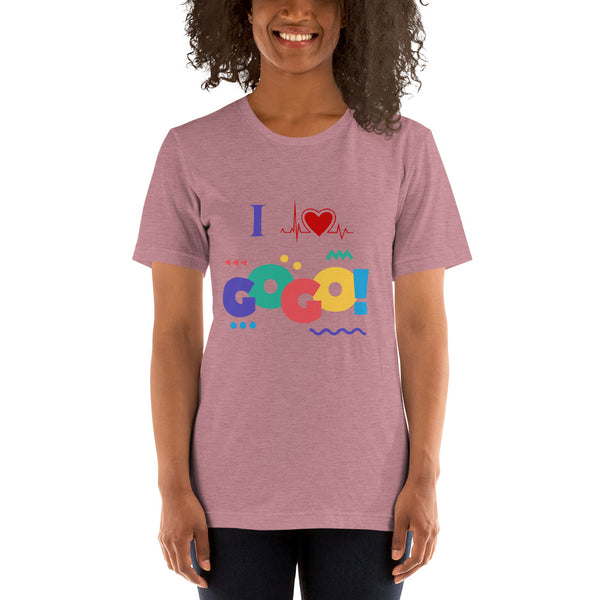 I luv gogo Short-Sleeve Unisex T-Shirt