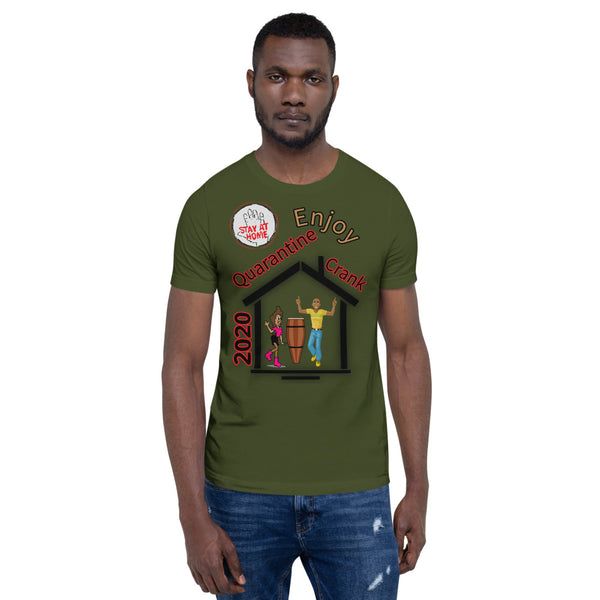 Stay home Short-Sleeve Unisex T-Shirt