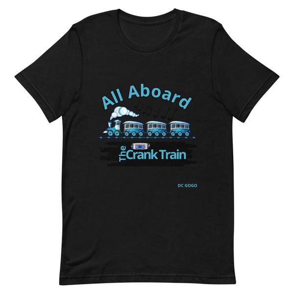 Crank Train Short-Sleeve Unisex T-Shirt