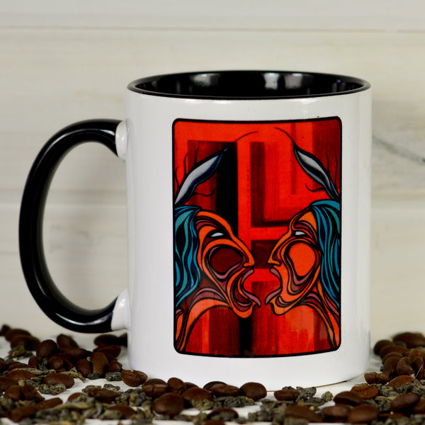 Faubert Collection Mug - Red Faces