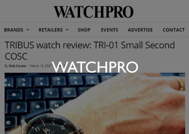 WatchPro TRI-01 Small Second COSC review