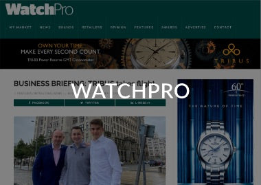 WatchPro Business Briefing: TRIBUS takes flight