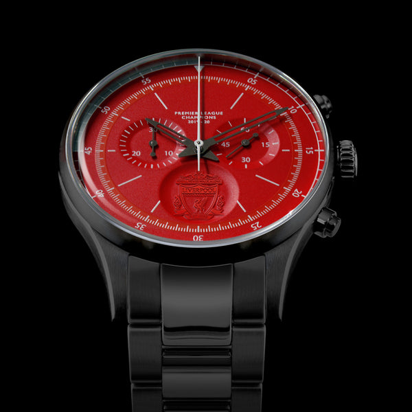 TRI-07 – LFC Sports Chronograph Champions Edition – Gun/Red/Bracelet