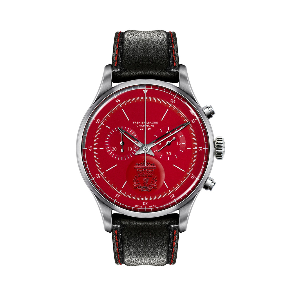 TRI-07 – LFC Sports Chronograph Champions Edition – Steel/Red/Black