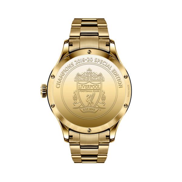 TRI-08 Premier League Champions Special Edition PVD gold caseback