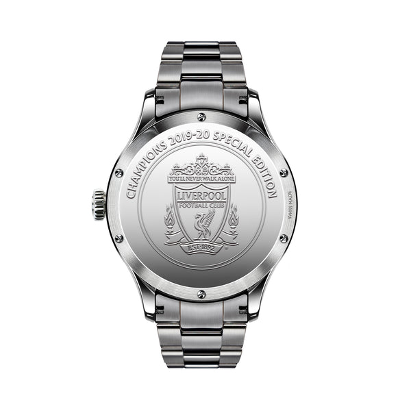 TRI-08 Premier League Champions Special Edition steel caseback