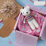 Free Polar Bear Crochet Amigurumi Pattern Featured Image