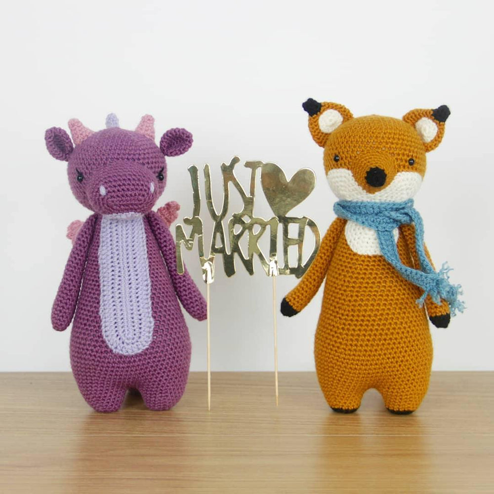 Just Married! - Little Bear Crochets
