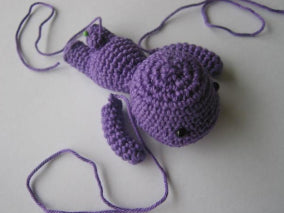 Free Lazy Bunny Crochet Amigurumi Pattern next step arms