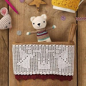 Free Polar Bear Crochet Amigurumi Pattern Magazine Picture