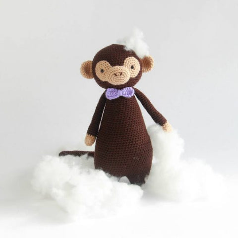 Tall Monkey with stuffing for crochet