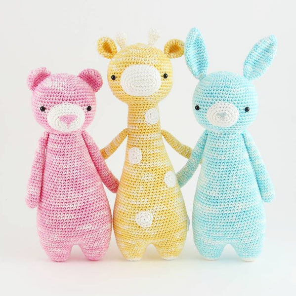 How to start with amigurumi plushes crocheted with feza yarn