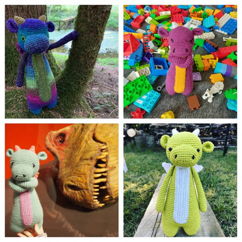 LBC Crochet Contest Highlights Tall Dragon