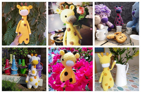 LBC Crochet Contest Highlights Tall Giraffe